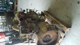 Volvo D7A complete engine