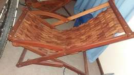 Two wooden chairs for sale!
