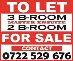 To let & For sale Nairobi. Residential/Commercial