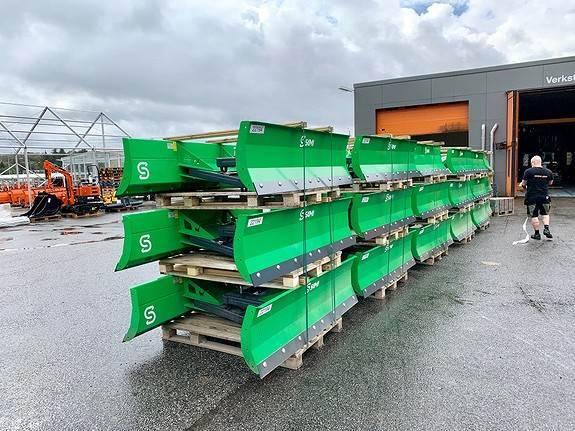 Pallegaffel Truck Snø Brøyteskjær - 2019
