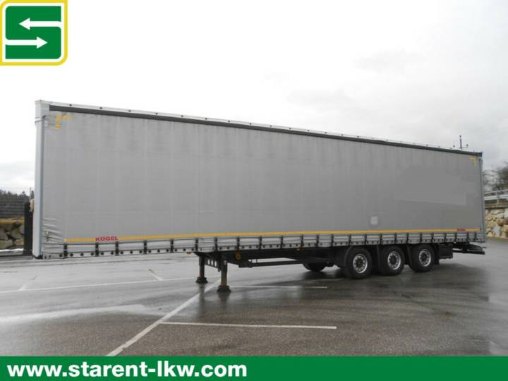 Koegel Megatrailer, Hubdach, SAF-Achsen, XL-Zertifikat - 2014