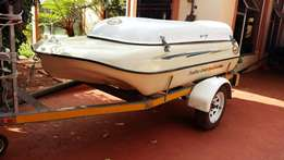 Trailer boat combination for sale.