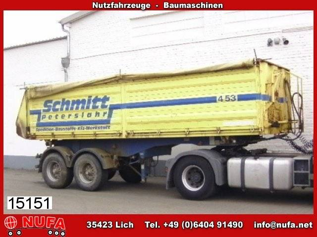 Schwarzmuller 2a 3s hks e, ca. 23 m³ - 1998