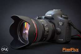 Canon 5d Mark 3 and Canon 7d hire