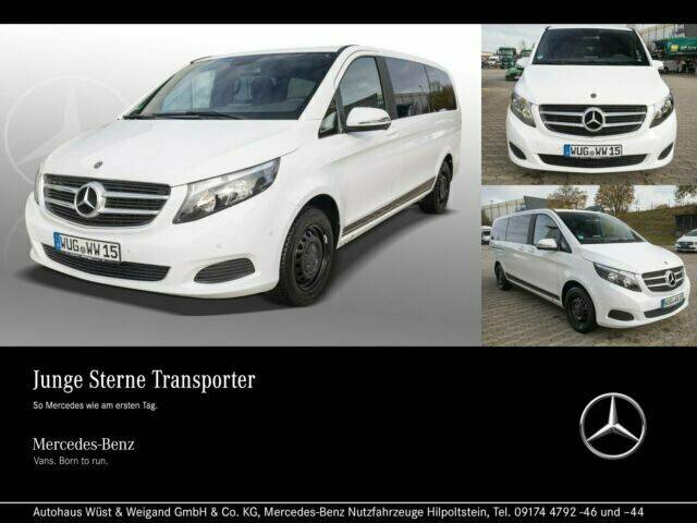Mercedes-Benz V 220 d RISE Lang Liegepaket+Navi+AHK+PTS+Kamera - 2018