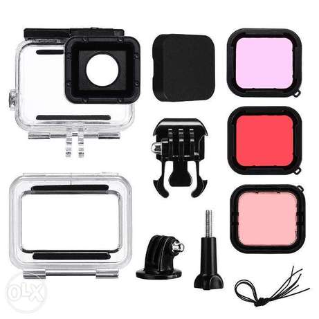 GoPro Waterproof Cover -45m up to 60m +3 Underwater filters