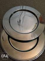 Silver underplates , deco , catering