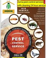 Asma pest control services with cleaning 24 hour All Bahrain services