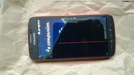 Original Samsung Galaxy S4 active... half broken/damaged screen