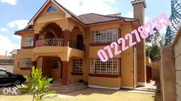 An exotic 5 brs with 2 brs sq in kahawa sukari house for sale