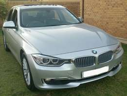 2012 BMW 320i F30 luxury spec