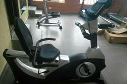 Brand new commercial recumbent bike