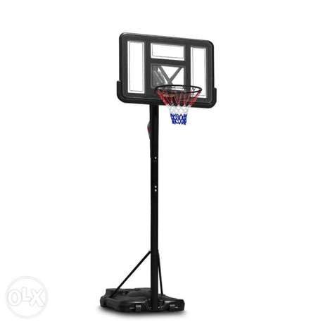 Basketball hoop - adjustable height control