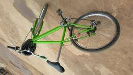 A sports bicycle on sale