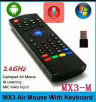 MX3 2.4G Wireless Six Axis Gyroscope Full Keyboard Air Mouse Remote