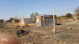 Stand and small shack for sale