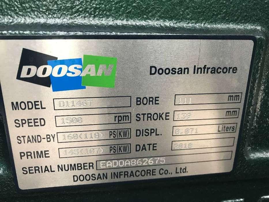 Doosan D1146T - 132 kVA Generator - DPX-15549 - 2019 - image 11