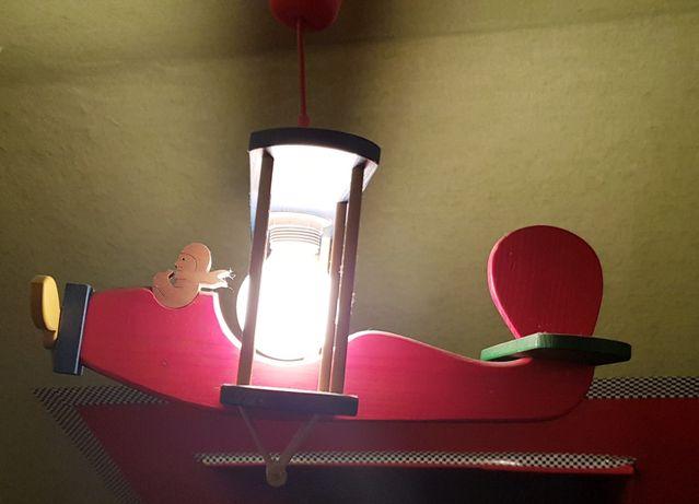 Oświetlenie żyrandol Samolot Do Pokoju Dla Chłopca Wiskitki