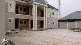 Newly specious 2 bedroom flat with steady light at dominion City NTA