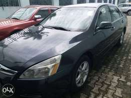 registered 2007 model Honda Accord