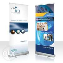 Narrow Base Roll Up 5500/- Broad base Roll-Up Banner 9500/-