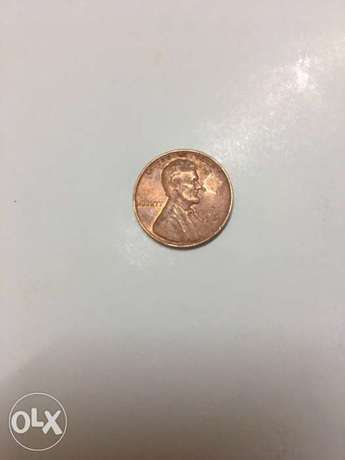 One cent American old
