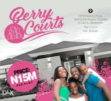 Land for sale at berry court estate sangotedo Lagos island