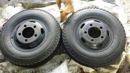 Nissan cabstar rims and tyres