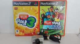 Playstation 2 Eye Toy Bundle, Awesome Condition