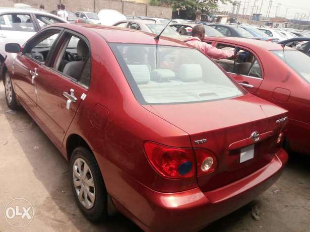 Foreign used 2007 Toyota corolla. Direct tokunbo Apapa - image 5