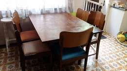 Table and 5 chairs
