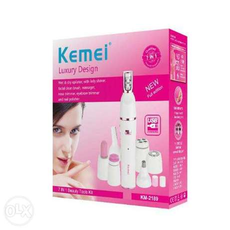 kemei lady Shaver KM-2189 electric shaver 7in 1