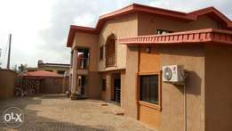 Detached 5bedroom duplex, with 2 sitting rooms, with another bungalow