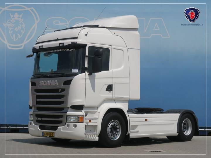 Scania R410 LA4X2MNA | refrigerator | side skirts - 2015