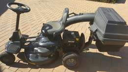 McCulloch ride on lawn mower