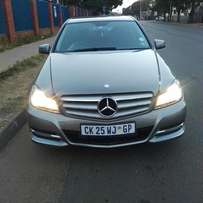 2013 Mercedes Benz c200 cgi, 42000km for R220,000.00