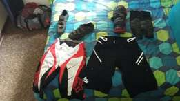 Cycling, downhill gear.