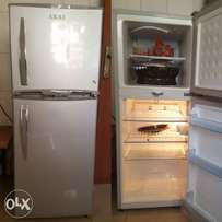 A fairly used two layer fridge for sale