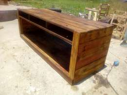 Pallet TV stand for sale