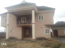 Exquisite 5 Bedroom Duplex With Boys Quarters In Shelter Afrique, Uyo
