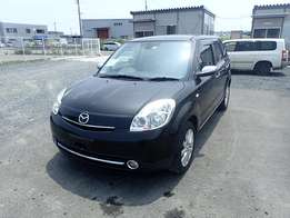 2010 Mazda Verisa Black Beauty