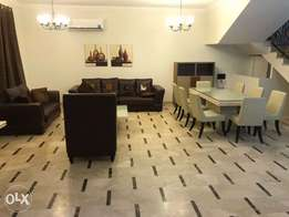 villa fully furnished in al-gharafa with month free inside compound