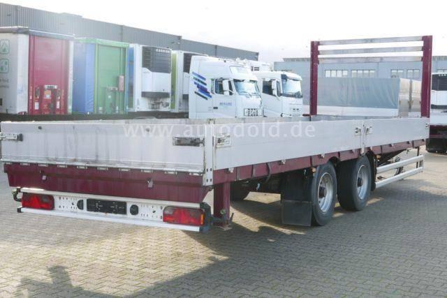 Meusburger MPT 2 Zentralachsanhänger Luftgefedert Bordwände - 2009 - image 4