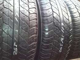 265/65/17 tyres