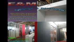 E&M Ceilings & Partitioning