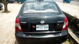 Black Hyundai accent available for sell
