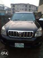Very clean registered Toyota Prado Land cruiser SUV manual gear