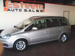 Opel Zafira 1.8 Man 7 seater. Very clean. finance arranged.