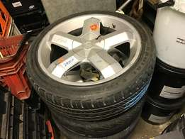 Tyres and mags 205/45R17 (CS212)