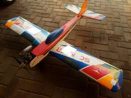 RC Nitro petrol Scanner plane for sale